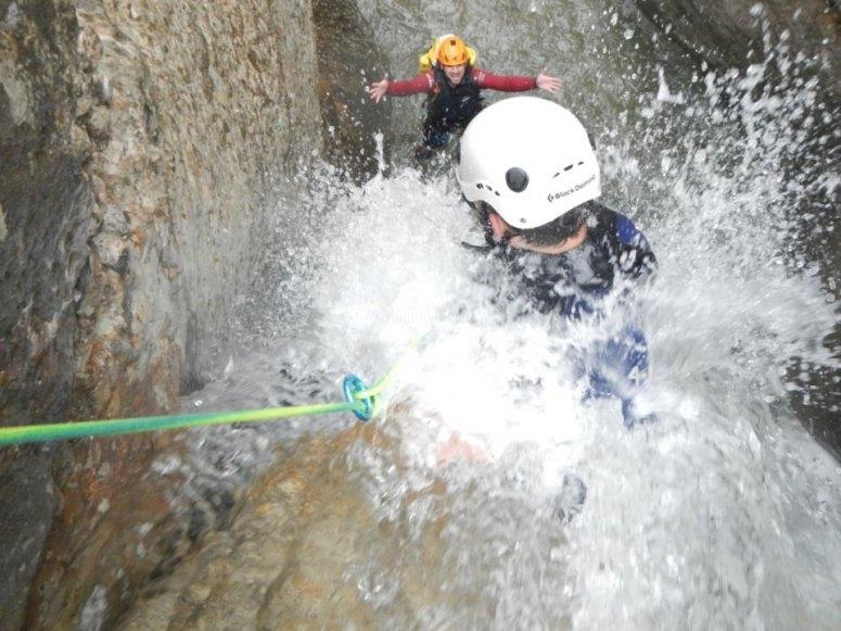 Barranco mixto en Vall Fosca
