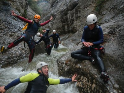 Canyoning at Boixols 4 hours