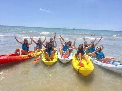 Alquiler kayak Punta Umbría o La Antilla 1 hora