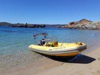 Alquiler de lancha en Menorca