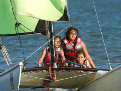 Catamaran在Isla Canela出租1小时