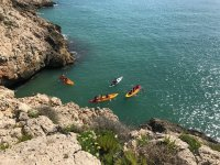 Kayaking in Valencia's coast