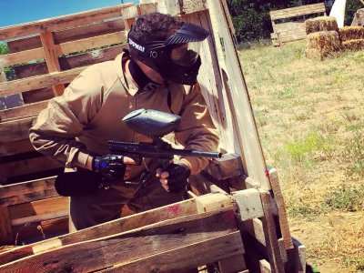 Paintball de 200 bolas para team building+barbacoa