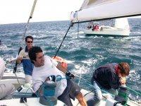 参加帆船赛