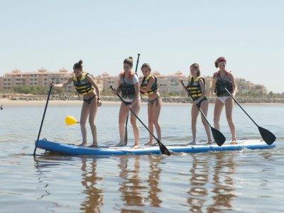 在Isla Canela的Big Paddle Surf出租1小时