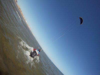 Alquiler material kitesurf en Isla Canela 1 hora
