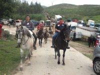 Rutas a caballo en romerías