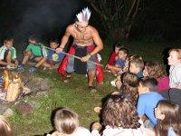Contacto con la cultura indigena