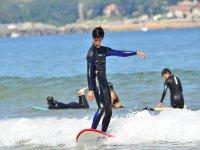 Controlando el surf