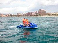在马略卡岛的水上摩托车