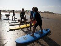 Curso de Surf en Isla Canela 8 horas