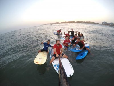 Descenso del Guadiana Paddle Surf Isla Canela 3h