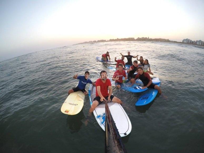Ruta en paddle surf por las Marismas
