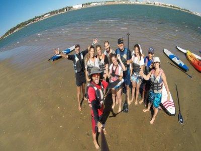 Paddle Surfing Marismas Isla Cristina Route 4小时