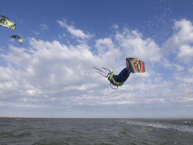 Kitesurfing en Costa de la Luz