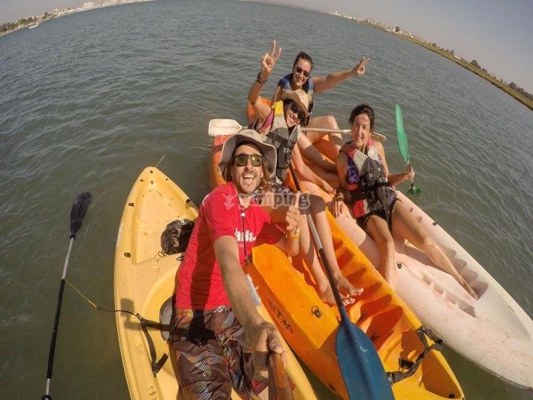 Kayak por Punta del Moral