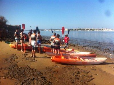 Percorso in kayak attraverso le paludi di Isla Cristina 4 ore