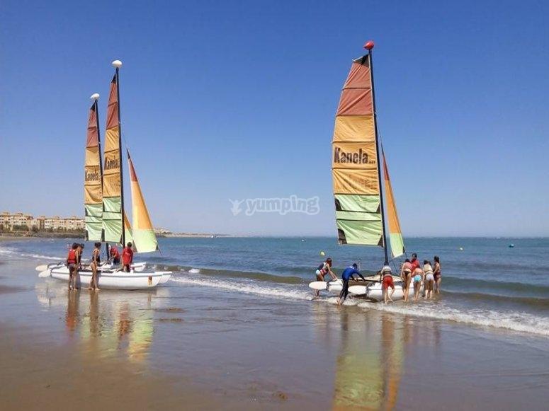 Costa de la Luz的双体船出租