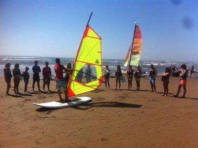 Isla Canela高级帆板运动课程10小时