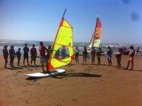 Curso de windsurf en Costa de la Luz