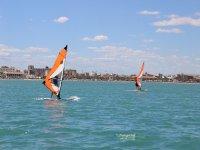 Clase de windsurf en la Marina Valencia de 2 horas