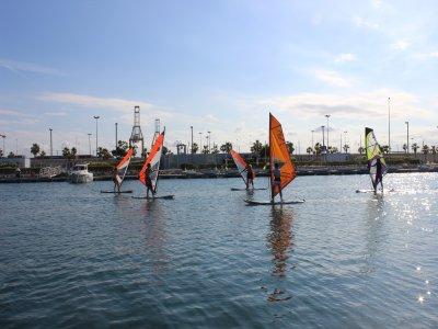 Corso di windsurf 10 ore a Marina de Valencia