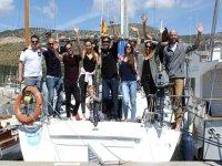 Sailing boat trip in Barcelona, for kids