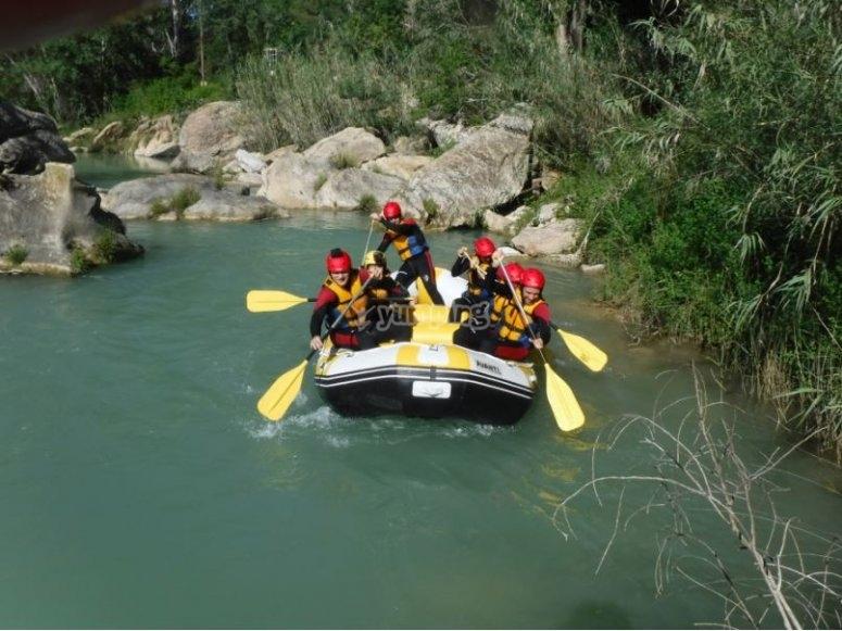 Recorriendo el río Guadalope