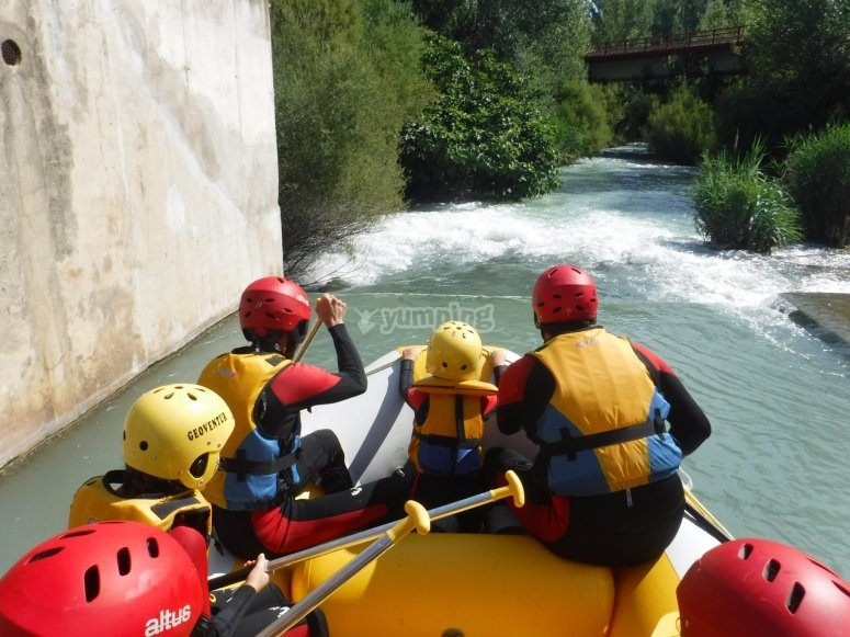 Rafting in Castellote