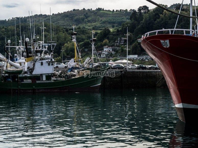 Salida de pesca por Guetaria