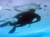 Bucea en aguas cristalinas