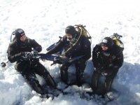 Preparando la inmersion en hielo