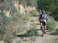 Bike route in Huesca