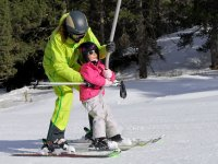 First steps in the ski resort