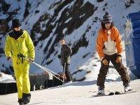 滑雪 - 调整弧