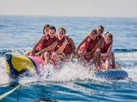 Banana boat en Lloret de Mar