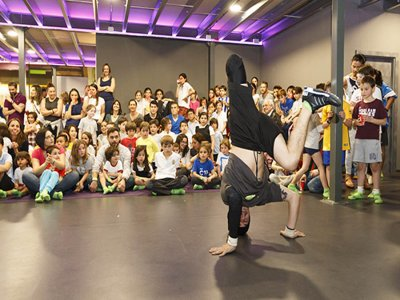 Fiesta Teen Night parque de trampolines La Coruña