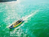 Navegando por aguas turquesas