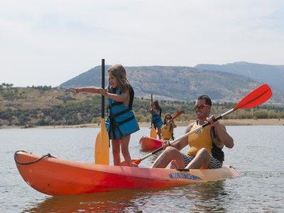 Ruta en Kayak en Gargantilla de Lozoya, 2:30 horas
