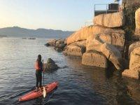 在SUP上会见Illa de Arousa