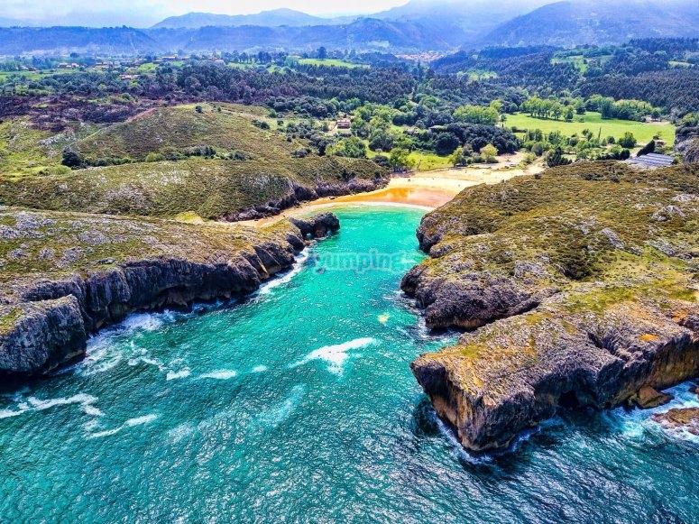 Paisajes de la costa asturiana