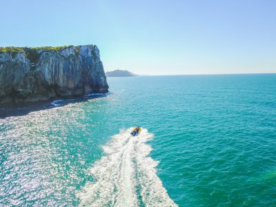 Speedboat Route in Asturias for Kids