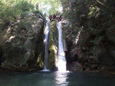 Canyoning in Barranco dels Empedrats, Bagà