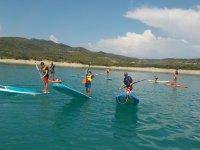 学习划桨冲浪的乐趣