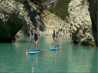 Paddling through the Entremón Canyon with SUP boards