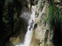 Livello di canyoning livello medio completo Green River