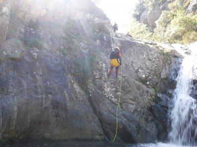 下坡峡谷开始Santponç