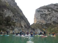 Paddle surf in the Huesca Pyrenees