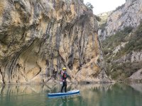 Stand up paddle in the mountains of