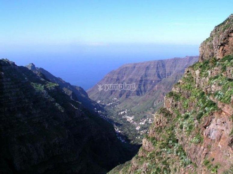 Descubre los paisajes de La Gomera